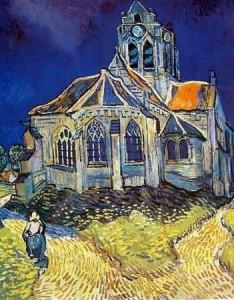 Kerkje van Auvers - Van Gogh