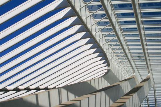 Lijnenspel in station Luik-Guillemins - 06|2009