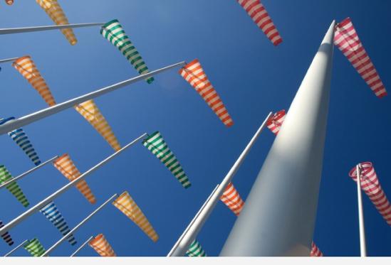 Beaufort03 - Daniel Buren: Le vent souffle où il veut - 07|2009