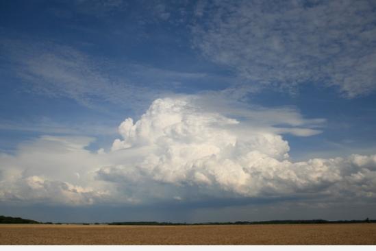 Schitterende wolkenformatie, Frank! - Picardie, Frankrijk - 07|2009