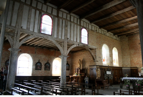 Eglise Saint-Médard in Parfondeval, Frankrijk - 08|2009