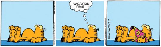 Garfield_vakantie