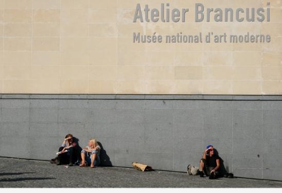 Bij Centre Pompidou, Parijs - 09|2009